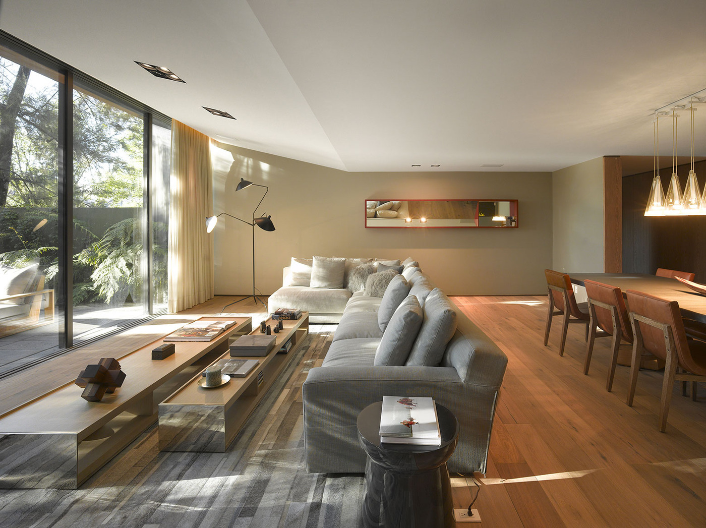 This Living Room Transforms Seamlessly from the Indoor to the ...