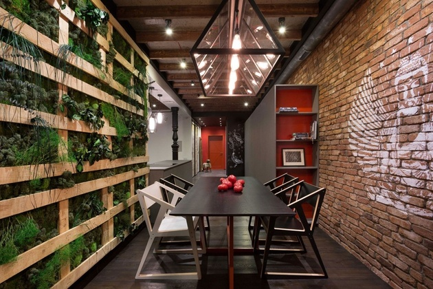 1 warehouse style loft cozied up innovative design details%20 thumb 630xauto 58874 Warehouse Style Loft with Stunning Visual Appeal