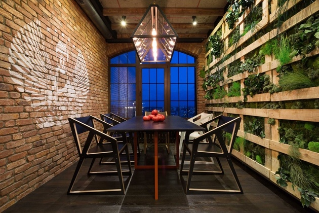 2 warehouse style loft cozied up innovative design details%20 thumb 630xauto 58876 Warehouse Style Loft with Stunning Visual Appeal