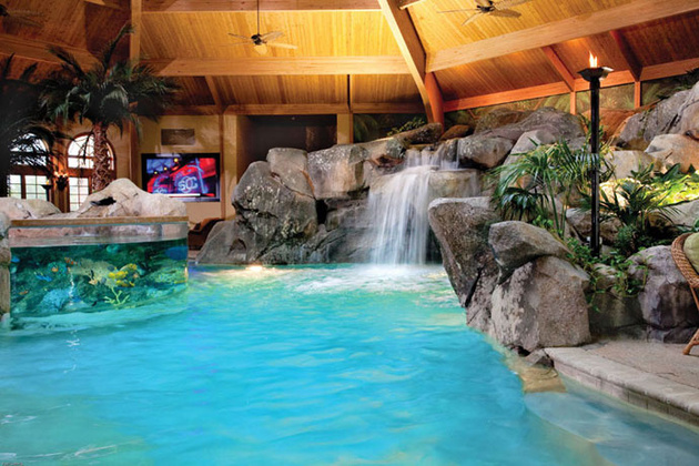 View In Gallery Awesome Swimming Caves Shehan Pools Grotto