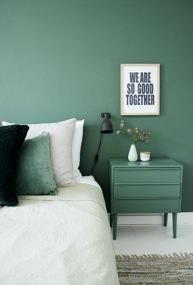1b green color interior design thumb autox928 61345 7 Ways to Create Green Color Interior Design