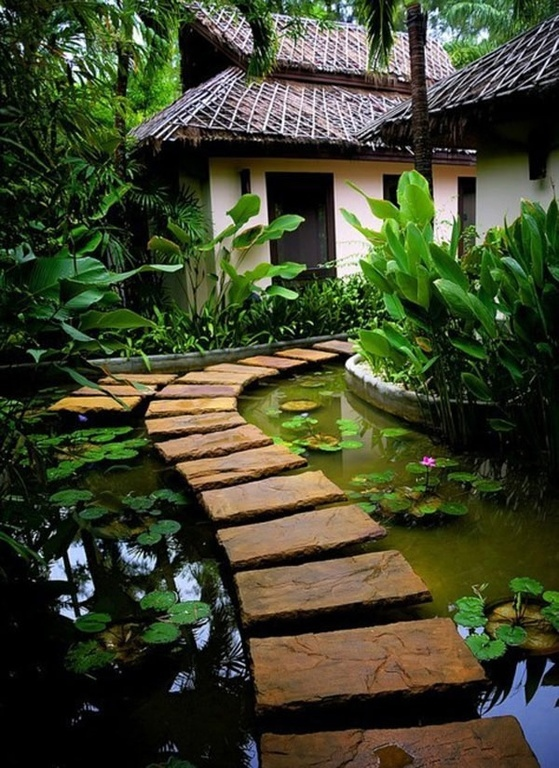 35 Sublime Koi Pond Designs and Water Garden Ideas for ... on Koi Ponds Ideas id=76147