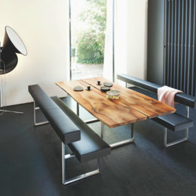 5 Looks, 5 Girsberger Dining Tables, Benches & Chairs