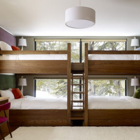 Awesome Bunk Beds for Kids: Large Bed for Four