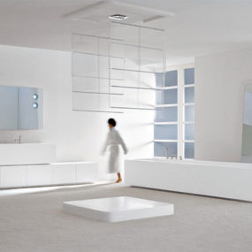 Modern Bathroom Interior from Axia: Big and Bold