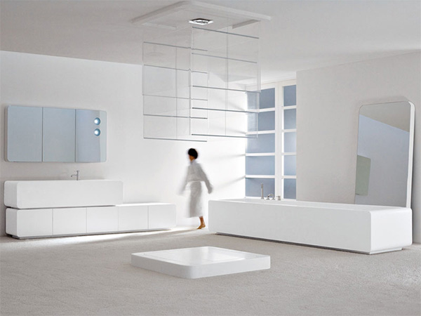 axia bathroom interior thumb Modern Bathroom Interior from Axia: Big and Bold