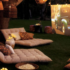 Backyard Theatre by Pottery Barn