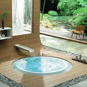 Overflowing Bathtubs – bath design ideas from Kasch