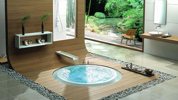 bathroom design ideas products kasch oriental Overflowing Bathtubs   bath design ideas from Kasch