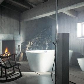 Bathroom Design Idea: Rustic vs. Modern Style