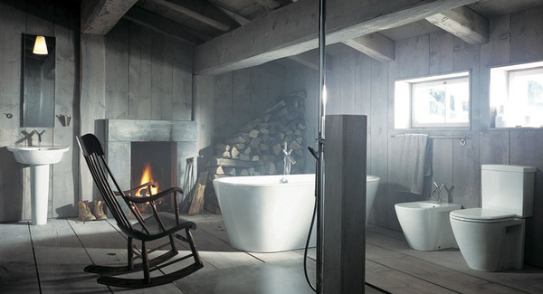 Bathroom Design Idea Rustic Vs Modern Style