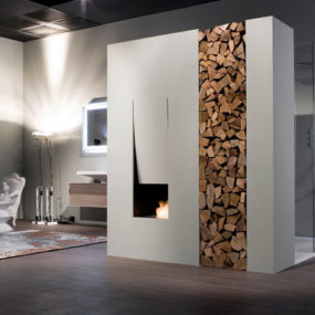 Bathroom Fireplace Ideas, Designs by Antonio Lupi