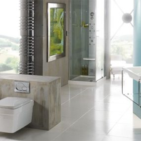 Bathroom Idea from Jacuzzi with shower system Essteam – Let there be Light!