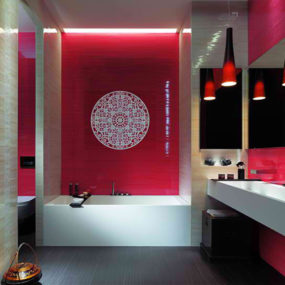 Shower tile designs for each and every taste for Beautiful toilet designs