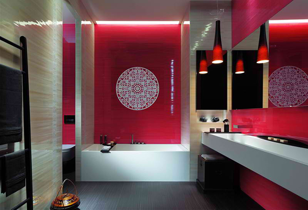 High Quality Beautiful Bathroom Tile Designs By Fap
