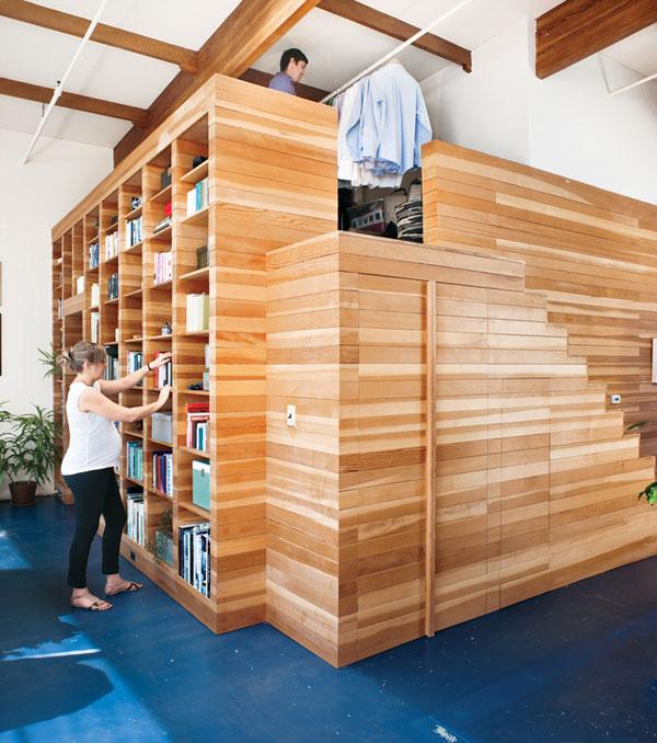 box within a box modern california loft 1 Creative Modern California Loft Design: a Box Within a Box