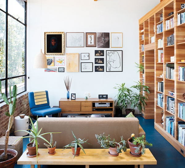box within a box modern california loft 3 Creative Modern California Loft Design: a Box Within a Box