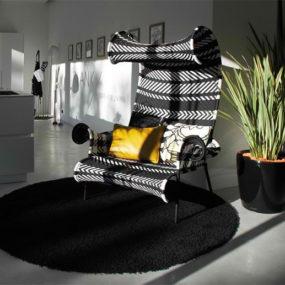 Bringing a Boring Modern Black and White Interior Scheme to Life