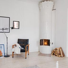 Casually Comfortable Decor-Driven Apartment In Sweden