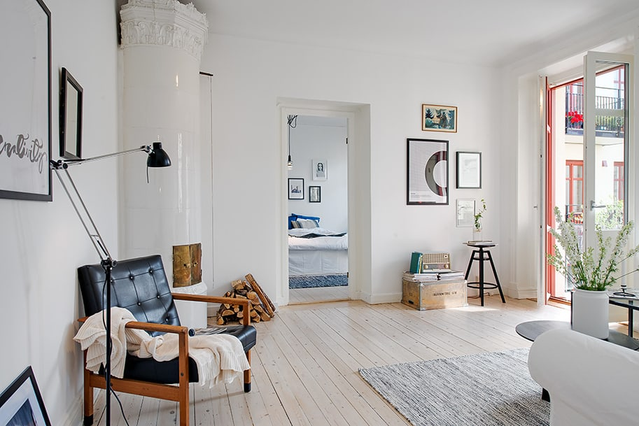 Casually Comfortable Decor Driven Apartment In Sweden