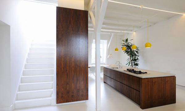chunky wooden kitchen interior 2 Chunky Wooden Kitchen Interior