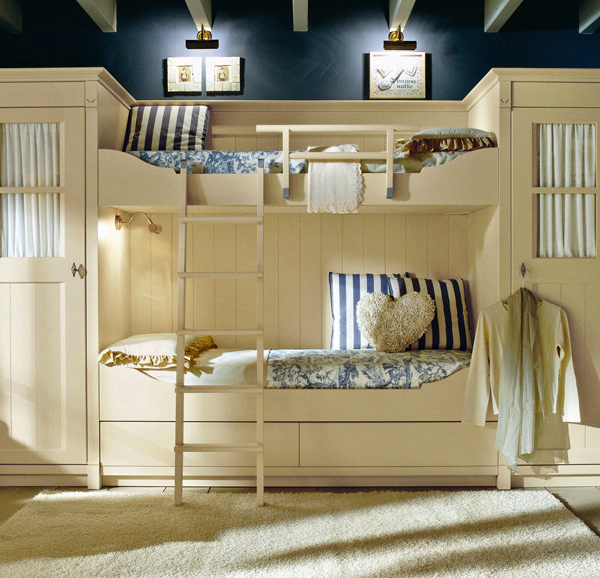 classic english style childrens bedroom minacciolo 2