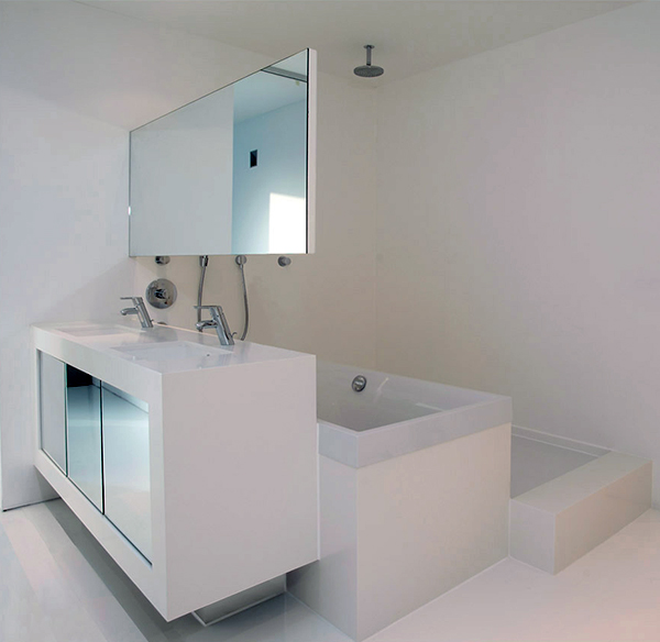 Clever Compact Bathroom Design By 48DV Impressive Compact Bathroom Designs