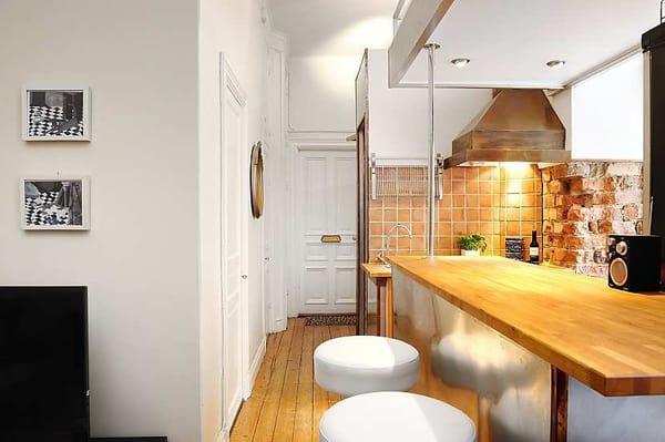 clever kitchen design. clever kitchen design compact modern apartment 5 jpg Clever Kitchen Design for a Compact Modern Apartment