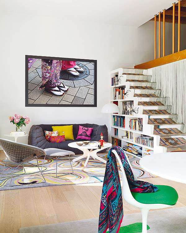 colorful apartment ideas from barcelona 2 Colorful Apartment Ideas from Barcelona