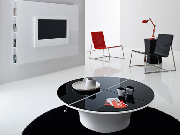 Ultra Modern Living Room Furniture by Compar