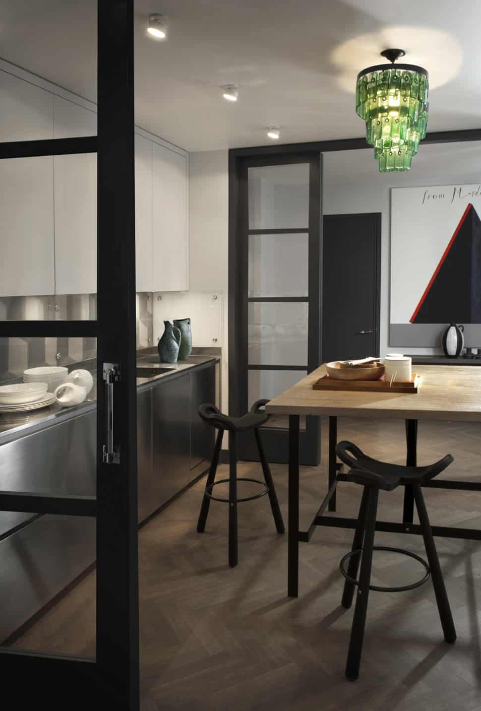 View In Gallery Contemporary Constructivist Apartment Moscow 10