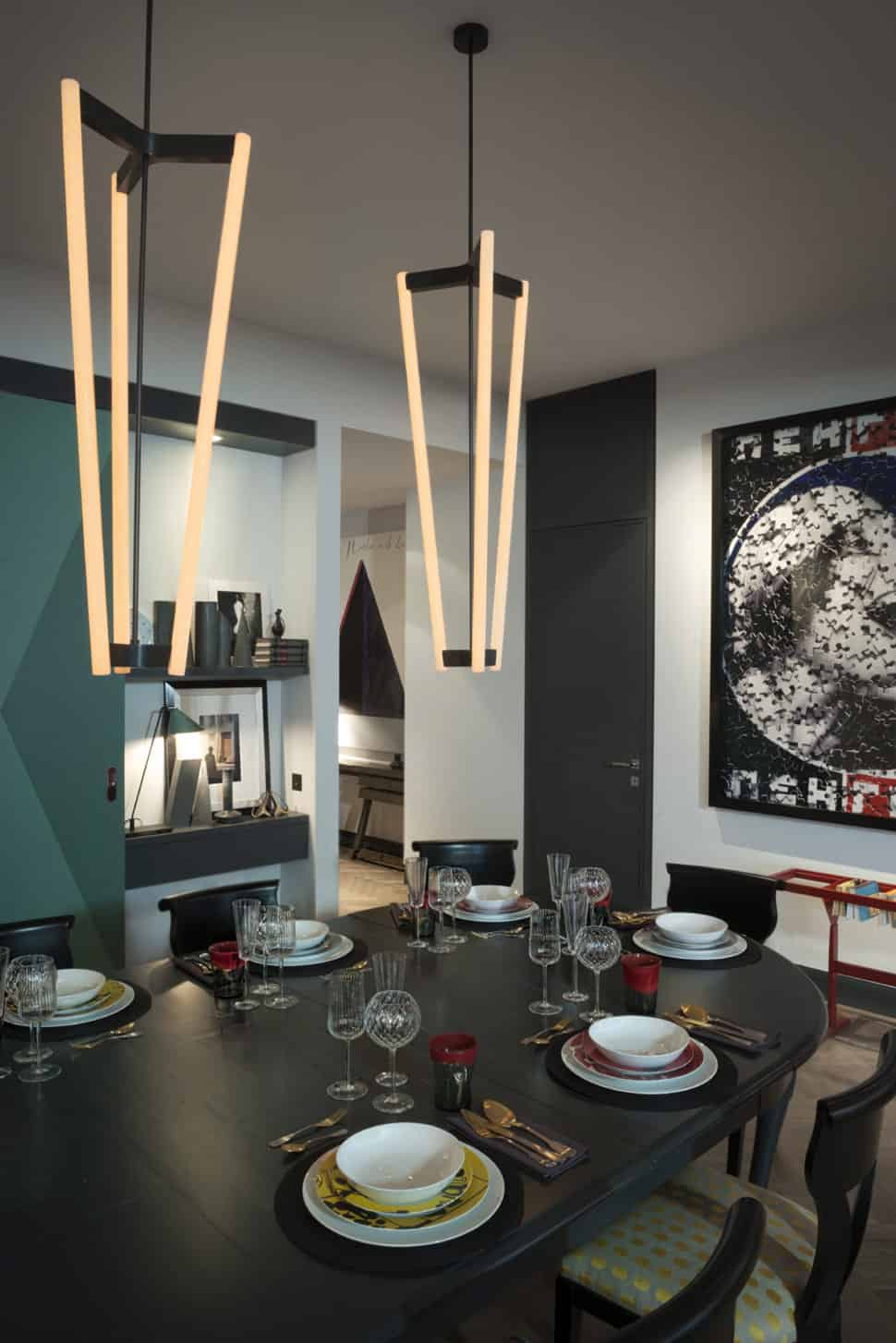 Contemporary Constructivist Moscow Apartment - Kate-hume-glass-decorations-for-an-apartment-in-moscow