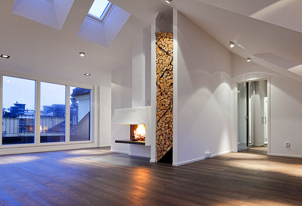 Genial Contemporary Firewood Storage Idea 2 Contemporary Firewood Storage Idea