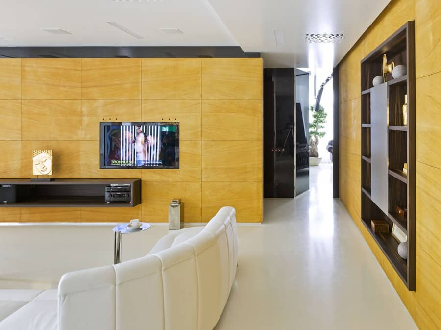 Luxury Russian Design Apartment with Contemporary Flair