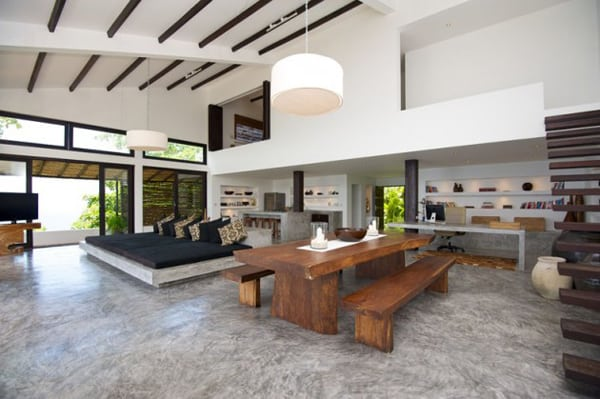 Contemporary Tropical Interior Design Casas Del Sol Villas 1