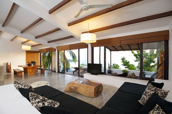 Contemporary Tropical Interior Design Casas Del Sol Villas