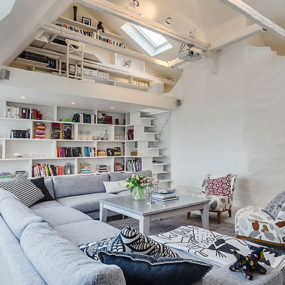 Country Contemporary Interiors in Stockholm, Sweden