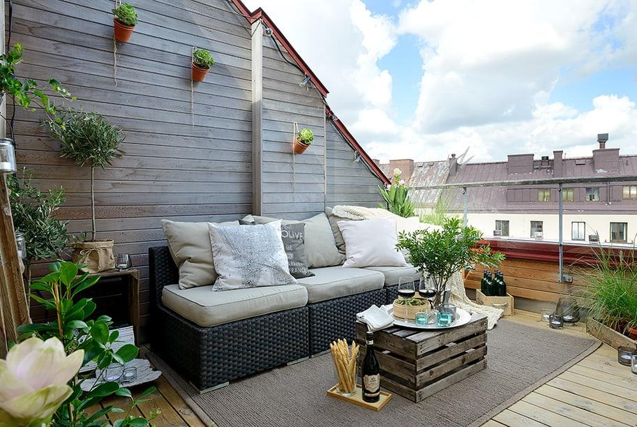 Balkon dekoration ideen