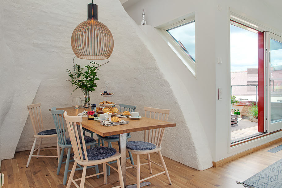 Cozy Apartment Decorated in Pure Modern Scandinavian Style