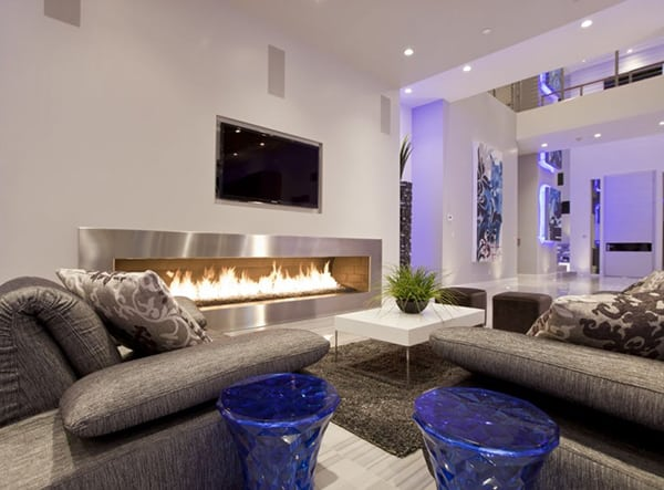 Cozy Fireplace Design by Chemical Spaces