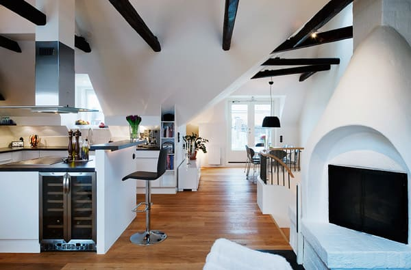 cozy loft design idea interesting architectural decorative details 1 Cozy Loft Design Idea: Interesting Architectural and Decorative Details