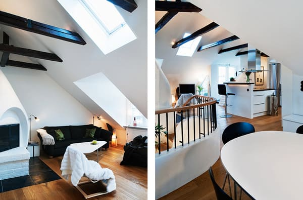 cozy loft design idea interesting architectural decorative details 2 Cozy Loft Design Idea: Interesting Architectural and Decorative Details