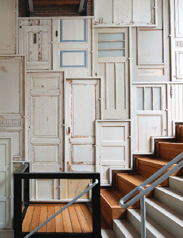 Creative DIY Idea For Foyer Wall