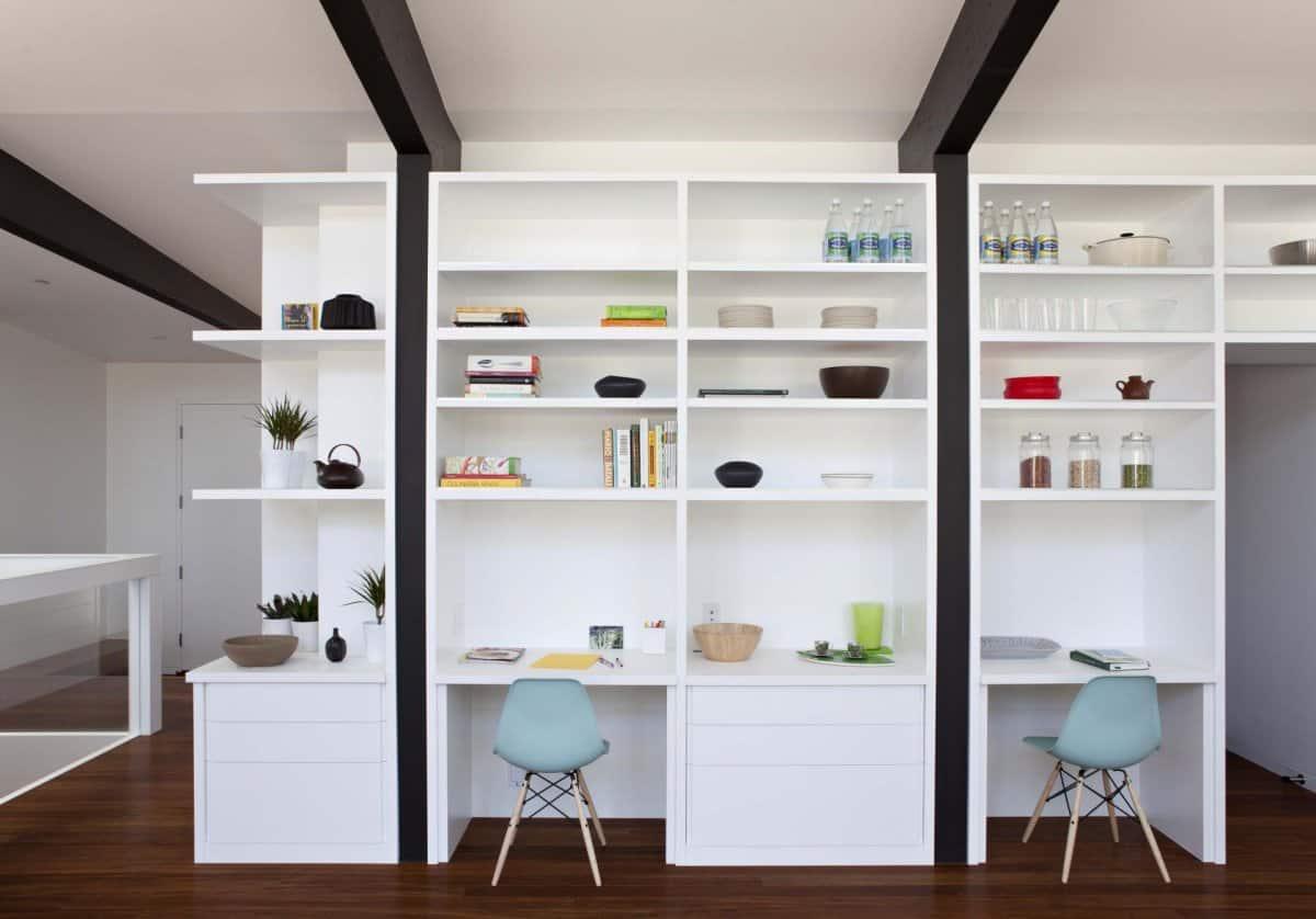 Vintage Modular Teak Wall Unit Mid Century Modern Shelving