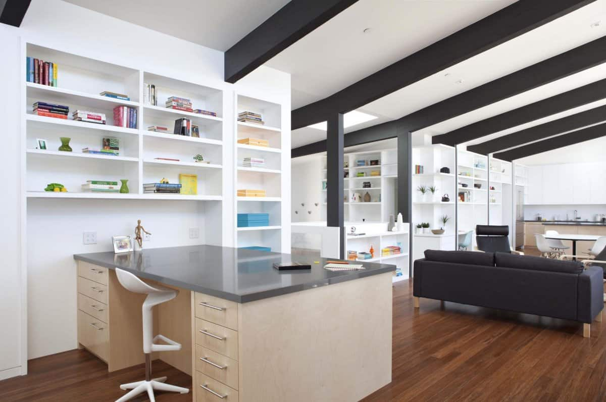 View In Gallery Cupertino Cubby Filled Hundreds Shelves Living Room Desk  Thumb 630x417 15826 Cupertino Cubby Home Filled With