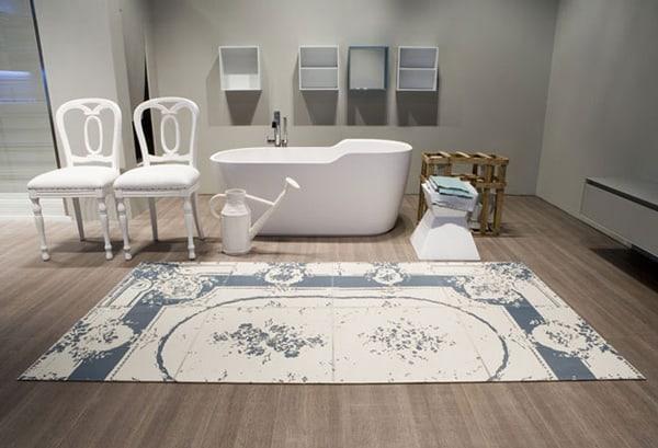 decorating bathroom with rugs antonio lupi 3 Decorating Bathroom with Rugs   Leather Floor Mats by Antonio Lupi