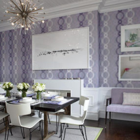 Decorating with Lavender Color Walls