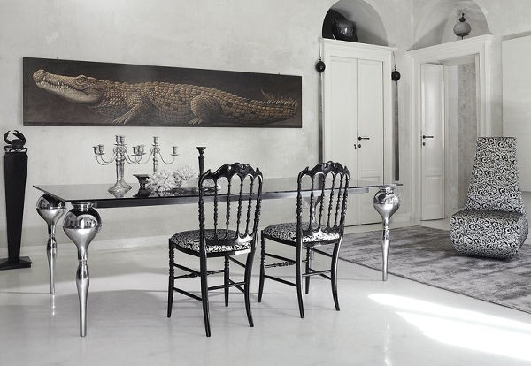 dining room noir cattelan italia Luxury Dining Room Ideas by Cattelan Italia
