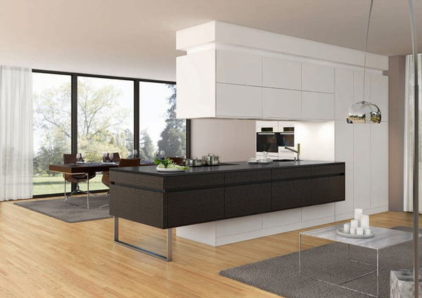 divide space kitchen 2 Divide your Space with a Kitchen
