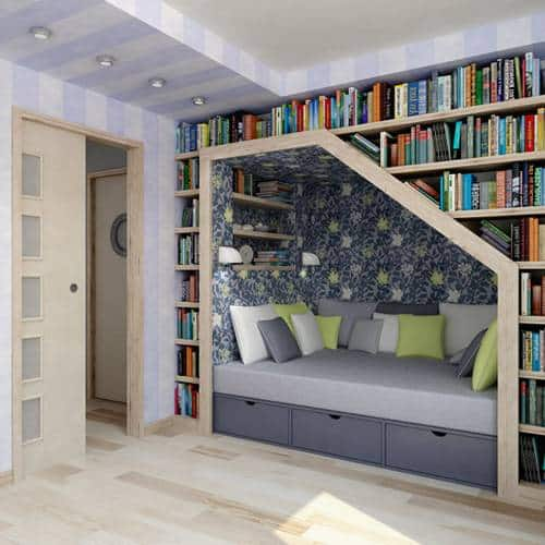 diy reading nook inspired design idea - Diy Design Ideas